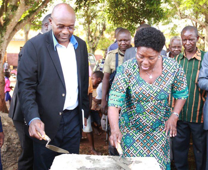 Hon. Rebecca Kadaga – Speaker of Parliament Flags off CDAP in Kamuli District