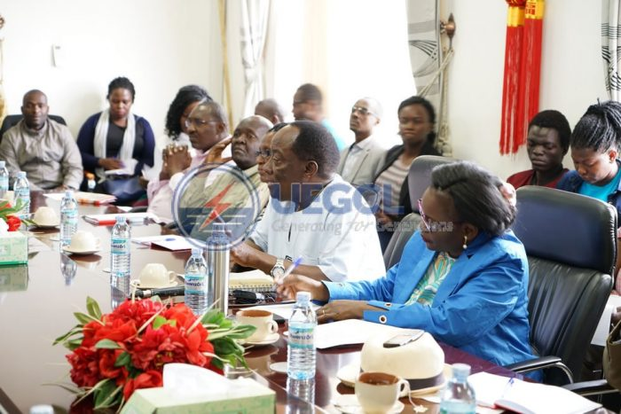Justice Bamugemereire  head of Land Commission Inquiry Visits Karuma HPP