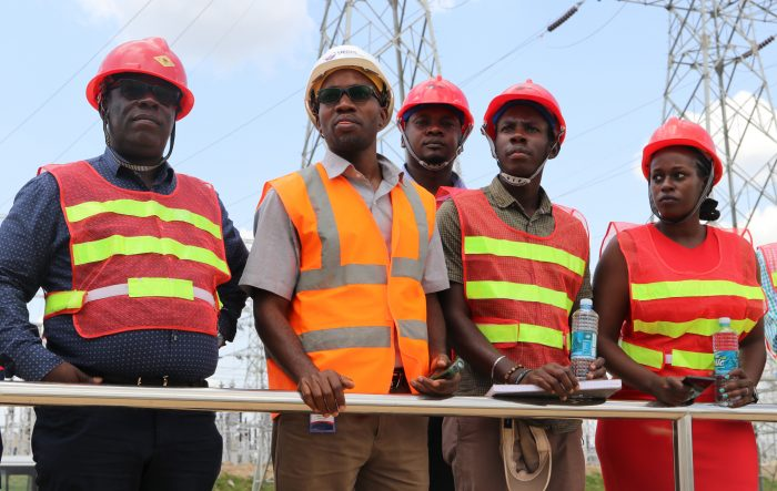 NITA-U tour Isimba Hydro Power Station!