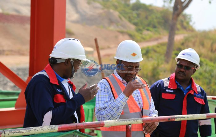 NRM Central Executive Committee Inspects Karuma HPP