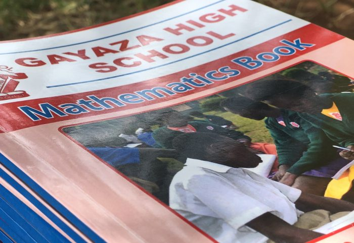 Okwece Primary School benefits from UEGCL and Gayaza High School education programme.