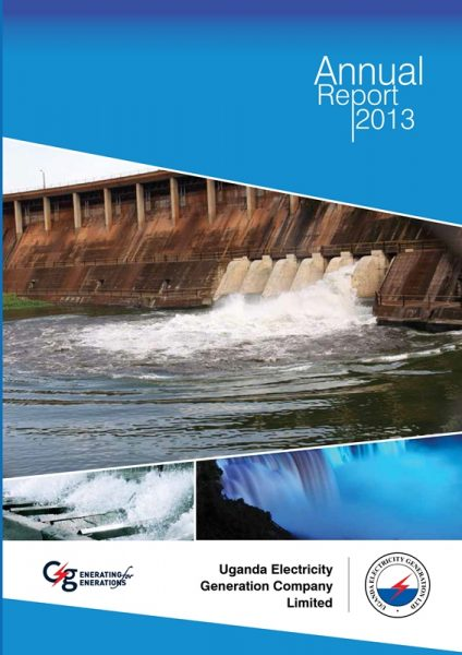 UEGCL Annual Report For Year Ended 2013