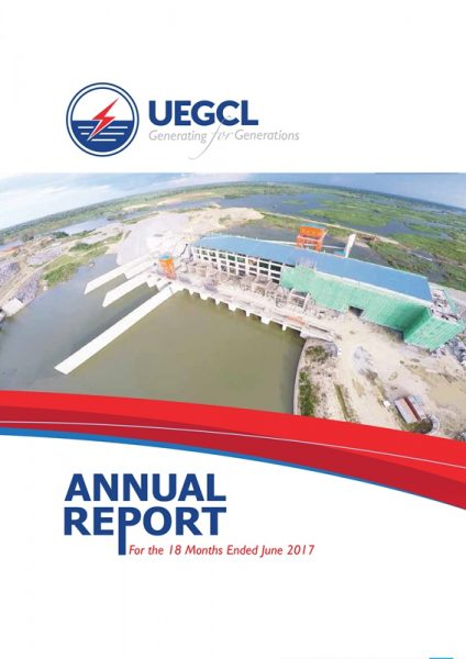 UEGCL Annual Report For the 18 Months Ended June 2017